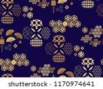 beautiful japanese seamless ... | Shutterstock .eps vector #1170974641