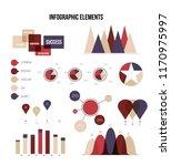 infographic elements  info... | Shutterstock .eps vector #1170975997