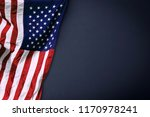 american flag background for... | Shutterstock . vector #1170978241