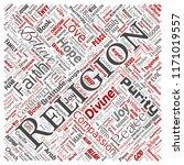 vector conceptual religion  god ... | Shutterstock .eps vector #1171019557