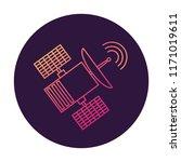 satellite communication... | Shutterstock .eps vector #1171019611