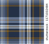 plaid pattern in dusty blue ... | Shutterstock .eps vector #1171032484