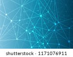 geometric abstract background... | Shutterstock . vector #1171076911