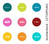 measurement of rhythm icons set.... | Shutterstock .eps vector #1171091461