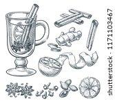 Mulled Wine Recipe  Vector...