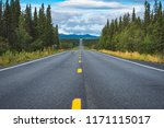 view of the richardson highway... | Shutterstock . vector #1171115017