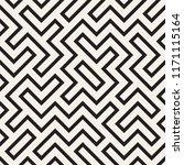 irregular maze line lattice....   Shutterstock .eps vector #1171115164