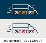 logistics icon. company...   Shutterstock .eps vector #1171129174