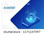 isometric artificial... | Shutterstock .eps vector #1171147597