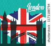 visit london travel | Shutterstock .eps vector #1171188754