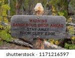 Rustic Wood Warning Sign...