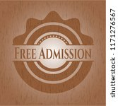 free admission retro style... | Shutterstock .eps vector #1171276567