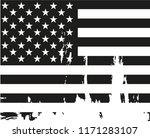 grunge usa flag.vintage... | Shutterstock .eps vector #1171283107