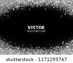 sparkling glitter border  frame.... | Shutterstock .eps vector #1171295767