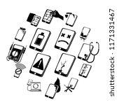 repair phones fix icons set....   Shutterstock . vector #1171331467