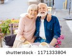 never boring. smiling senior... | Shutterstock . vector #1171333804