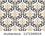floral pattern. vintage... | Shutterstock .eps vector #1171340014