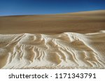 sand patterns in a desert ... | Shutterstock . vector #1171343791