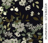 elegance pattern with flowers... | Shutterstock .eps vector #1171362214