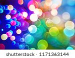 defocused colorful abstract... | Shutterstock . vector #1171363144
