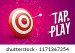 sport target win concept.... | Shutterstock .eps vector #1171367254
