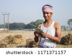 rural farmer shoot | Shutterstock . vector #1171371157