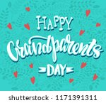 happy grand parents day  ... | Shutterstock .eps vector #1171391311