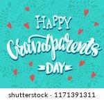happy grand parents day  ...   Shutterstock .eps vector #1171391311