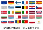 collection of flags from all... | Shutterstock .eps vector #1171396141