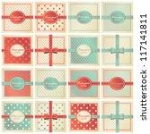 card templates set | Shutterstock .eps vector #117141811