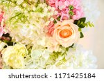 beautiful flower decorate... | Shutterstock . vector #1171425184
