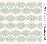 vector islam pattern border.... | Shutterstock .eps vector #1171430614