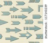arrows seamless | Shutterstock .eps vector #117143239