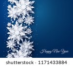 vector merry christmas and... | Shutterstock .eps vector #1171433884
