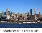 new york city  new york   usa   ...   Shutterstock . vector #1171449634