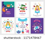 wonderland banner  poster and... | Shutterstock .eps vector #1171478467