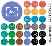 camera aperture value mode... | Shutterstock .eps vector #1171479124