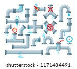 vector set of details ware... | Shutterstock .eps vector #1171484491