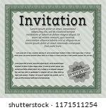 green vintage invitation... | Shutterstock .eps vector #1171511254