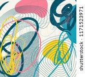 creative doodle art header with ...   Shutterstock .eps vector #1171523971