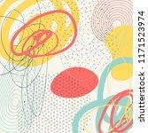 creative doodle art header with ...   Shutterstock .eps vector #1171523974