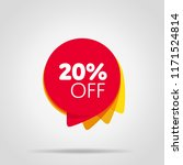 special offer sale red tag... | Shutterstock . vector #1171524814