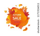 template design discount banner ... | Shutterstock .eps vector #1171526011
