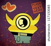 monster | Shutterstock .eps vector #117153085