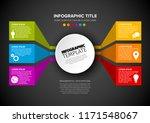 vector multipurpose infographic ... | Shutterstock .eps vector #1171548067