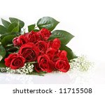 Stock photo beautiful red roses 11715508