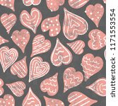 vector hand drawn decorated... | Shutterstock .eps vector #1171553554