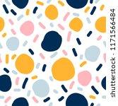 abstract handmade seamless... | Shutterstock .eps vector #1171566484