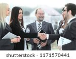 professional business team and...   Shutterstock . vector #1171570441