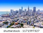 morning view of the city of san ... | Shutterstock . vector #1171597327